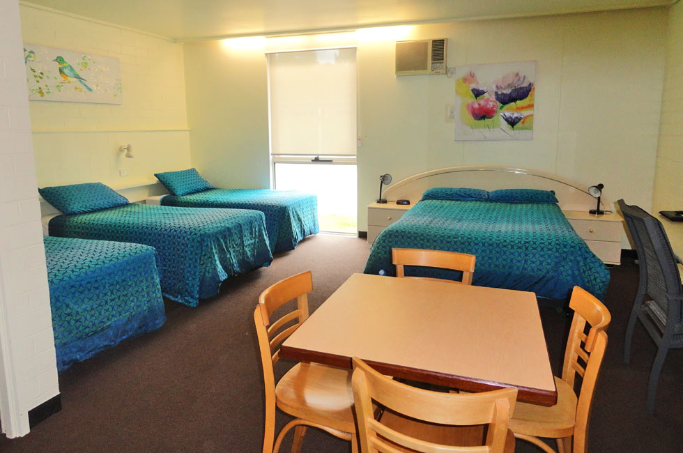 Spacious Family rooms are ideal for larger families or groups wishing to stay together